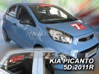 Ofuky oken KIA Picanto II, 4D 2011 =>, přední + zadní