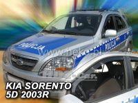 Ofuky oken KIA Sorento, 5D 2002 =>, 2ks přední