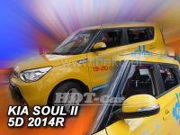 Ofuky oken Kia Soul II 5D 2014=> (+zadní)