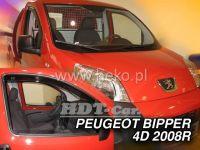 Ofuky oken PEUGEOT Bipper, 4/5D, 2008 =>, přední
