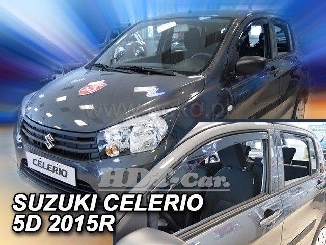Plexi, ofuky Suzuki Celerio 5D 15R + zadní