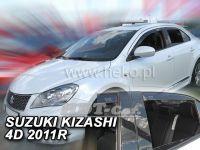 Ofuky oken SUZUKI Kizashi, 5D 2011 =>, přední + zadní