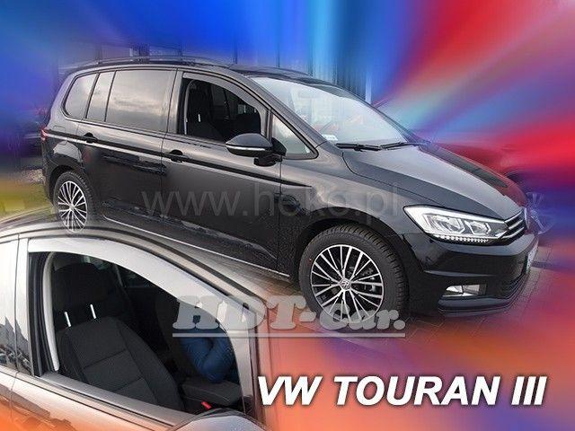 Plexi, ofuky VW Touran 5D 15R =>, sada 2ks přední