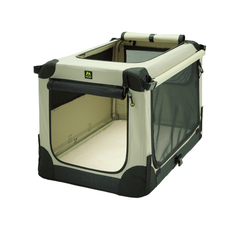 Přepavka pro psy - Soft Kennel 105 w/carry handles Přepavka pro psy - Soft Kennel 105 => černá/béžová