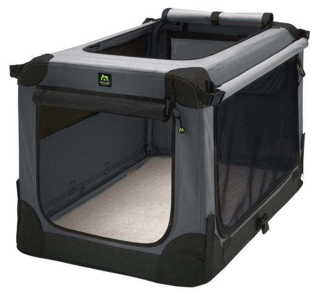 Přepavka pro psy - Soft Kennel 120 w/carry handles Přepavka pro psy - Soft Kennel 120 => černá/šedá