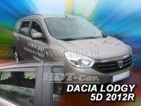 Ofuky oken Dacia Lodgy 5D 2012 =>, přední + zadní