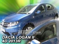 Ofuky oken Dacia Logan II 4D 2013=> přední 2ks>