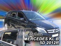 Ofuky oken Mercedes B W246 5D 2011 =>, přední+ zadní