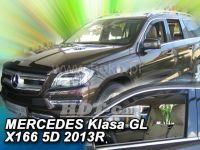 Ofuky oken Mercedes M W166 5D 2011 =>, přední 2ks