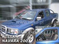 Ofuky oken NISSAN Navara Pick Up 4D 2001-2005