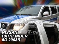 Ofuky oken NISSAN Pathfinger 5D 2005 =>, přední + zadní