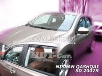 Ofuky oken NISSAN Qashqai 5D, 2007 =>, 4ks přední + zadní