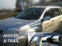 Ofuky oken NISSAN X-Trail, 5D 2001 =>, přední + zadní