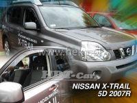 Ofuky oken NISSAN X-Trail, 5D 2007 => přední + zadní