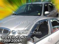 Ofuky oken ROVER 45 4D, 99-2004 přední + zadní