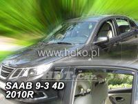 Ofuky oken SAAB 93 4D, 2002 =>, přední + zadní