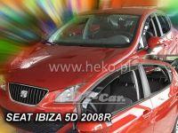 Ofuky oken SEAT Ibiza 5D, 2008 =>, přední + zadní