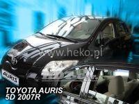 Ofuky oken TOYOTA Auris 5D, 2007 =>, přední + zadní