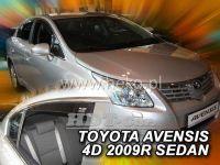Ofuky oken TOYOTA Avensis sedan 4D 2009 =>, přední + zadní
