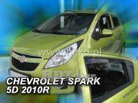 Ofuky oken Chevrolet Spark 5D 2010 =>, přední + zadní