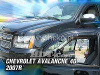 Ofuky oken Chevrolet Avalanche 4D 2007 =>, přední