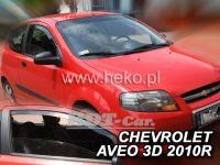 Ofuky oken Chevrolet Aveo 3D 2005 =>, přední