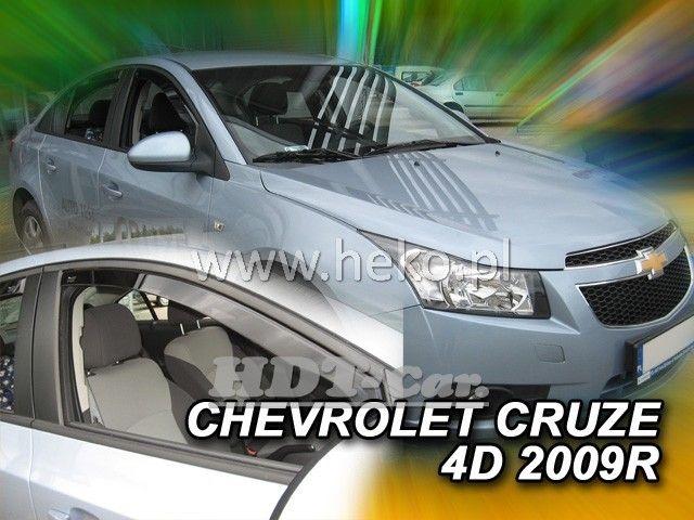 Plexi, ofuky Chevrolet Cruze 4D 2009 => přední