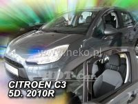 Ofuky oken Citroen C3 5D 2010 => přední