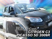 Ofuky oken Citroen C3 Picaso 2009r =>, sada 2ks přední