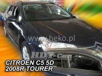 Ofuky oken Citroen C5 5D 08R combi + zadní