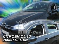 Ofuky oken Citroen C5 5D 2008 =>, sedan + zadní