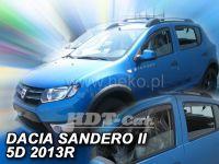 Ofuky oken Dacia Sandero Stepway II 5D 2012r=> přední + zadní