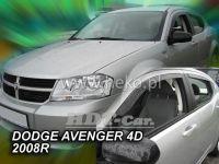 Ofuky oken Dodge Avanger 4D 2008 =>, přední + zadní