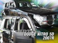 Ofuky oken Dodge Nitro 5D 2007 => přední + zadní