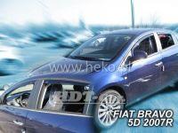 Ofuky oken Fiat Bravo 5D 2007 =>, přední + zadní
