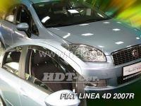 Ofuky oken Fiat Linea 4D 2007 =>, přední + zadní