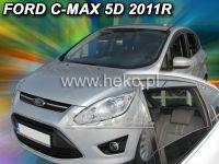 Plexi, ofuky Ford C MAX 5dv., od 2011r =>, sada 4ks přední + zadní HDT