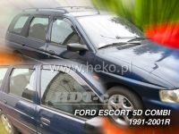 Plexi, ofuky Ford Escort 5D 1990-2001 comb přední + zadní HDT