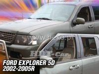 Ofuky oken Ford Explorer 5D 02--05R přední + zadní