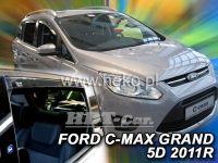 Ofuky oken Ford Grand C-MAX 5D 2011 =>, přední + zadní
