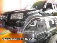 Ofuky oken Ford Ranger 4D 2007 =>, přední + zadní