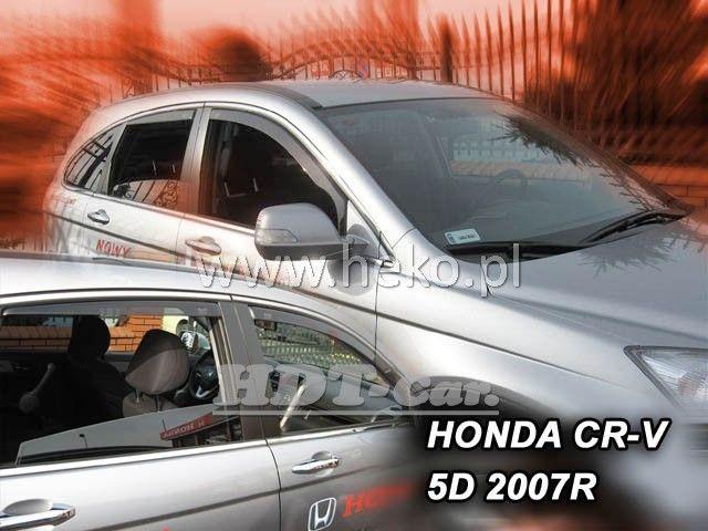 Plexi, ofuky Honda CRV 5D 2007 =>, přední HDT