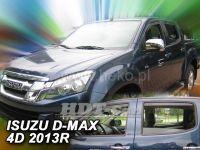 Ofuky oken Isuzu D-Max 2/4D 2 generace 2012 =>, sada 4ks přední + zadní