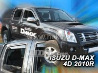 Ofuky oken Isuzu D-Max 4D 2010r, přední + zadní