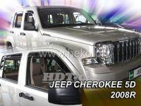 Ofuky oken JEEP Cherokee 5D 2008 =>, přední + zadní
