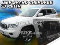 Ofuky oken JEEP Grand Cherokee, 5D 2011 =>, přední + zadní