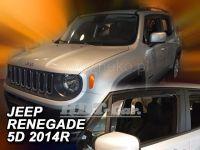 Ofuky oken Jeep Renegade 5D 2014r =>, 2ks přední