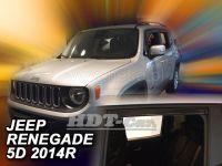Ofuky oken Jeep Renegade 5D 2014r =>, 4ks prední+zadní