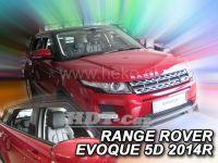 Ofuky oken Land Rover Range Rover Evoque 5D 2011r => přední+ zadní