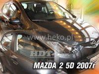 Ofuky oken MAZDA 2, 5D, 2007 =>, přední + zadní